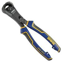 "8"" Max Leverage End Cutting Pliers with PowerSlot"